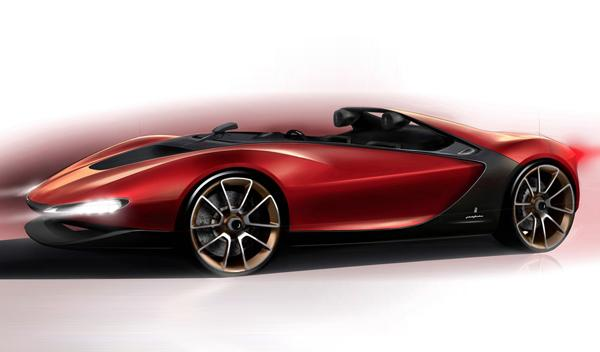 Pininfarina Sergio Concept: otra obra de arte en Ginebra