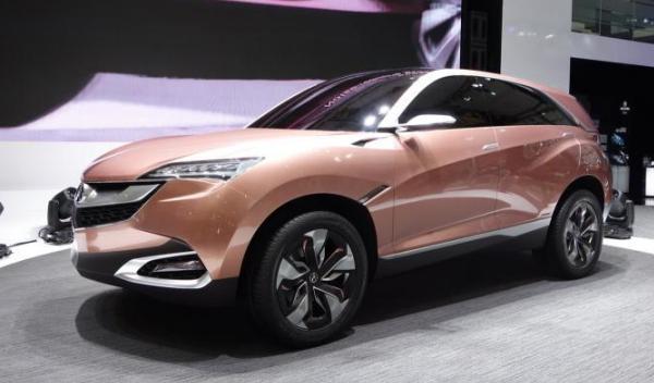 Acura SUV-X Concept Salón Shanghai 2013