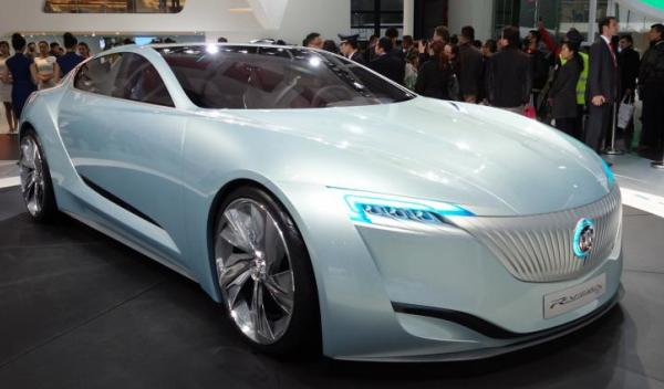 Buick Riviera concept, en el Salón de Shanghai 2013