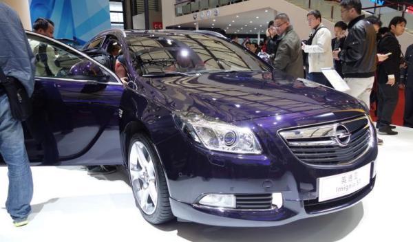 Opel Insignia Sports Tourer Salón de Shanghai 2013