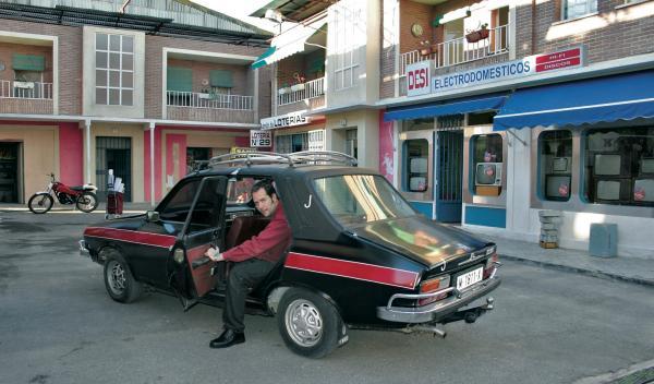 cuéntame cómo pasó taxi Renault 12 TS