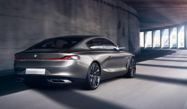 BMW Pininfarina Gran Lusso Coupe trasera