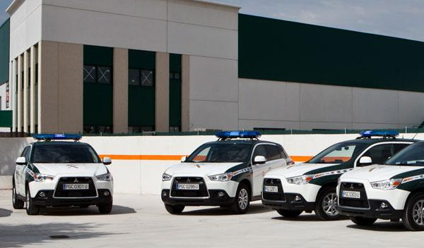 24 Mitsubishi ASX DID 4WD, para la Guardia Civil de Tráfico