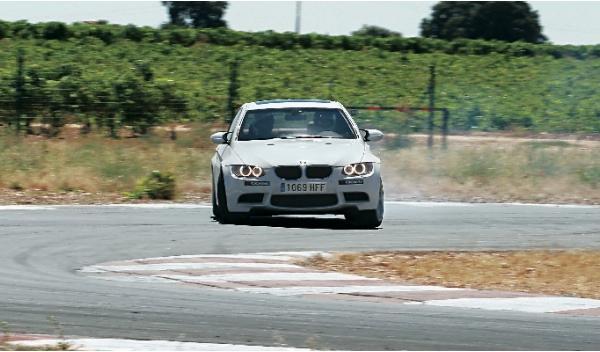 BMW M3 420 CV delantera derrape drift drifting