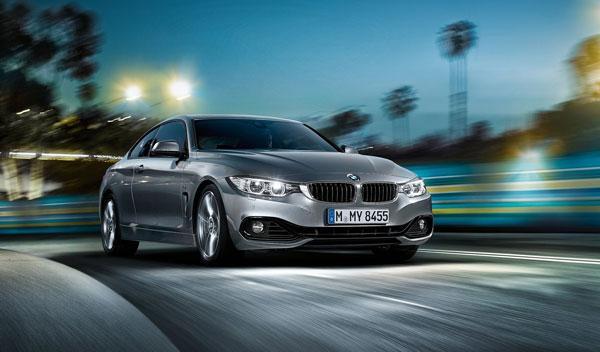 BMW Serie 4 tres cuartos delantera