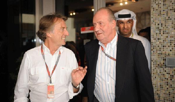 El Rey renuncia a los dos Ferrari que le regaló un jeque