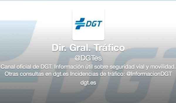 La DGT lanza dos perfiles en Twitter para dar información