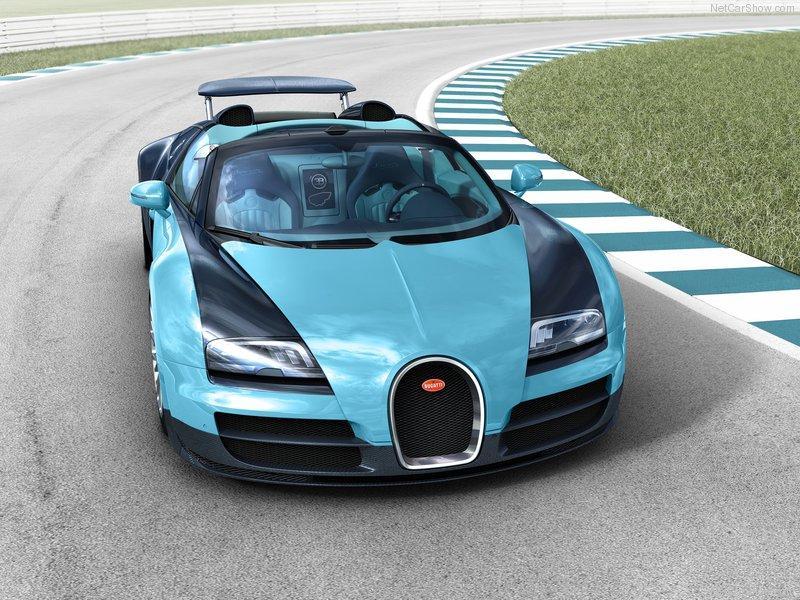 Bugatti Veyron Jean-Pierre Wimille frontal