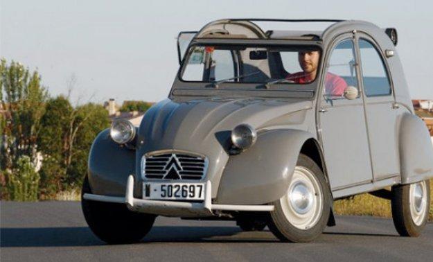 Citroën 2CV: feo pero simpático