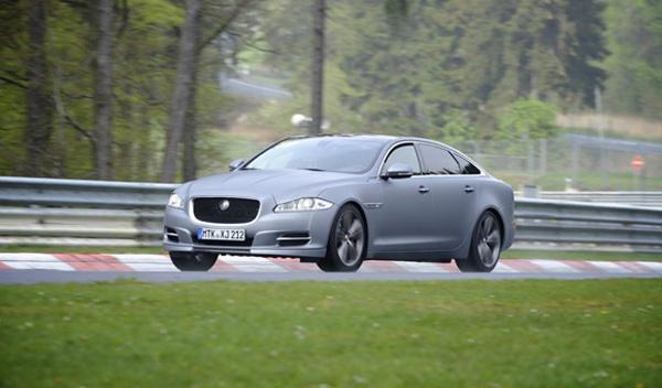 Accidente del Jaguar XJ Supersport Ring Taxi en Nürburgring