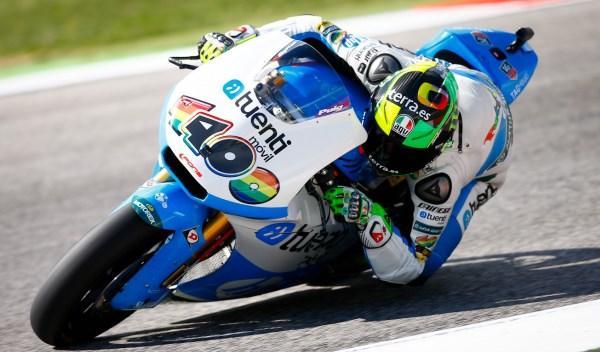 Pol Espargaró, en el Gran Premio de San Marino.
