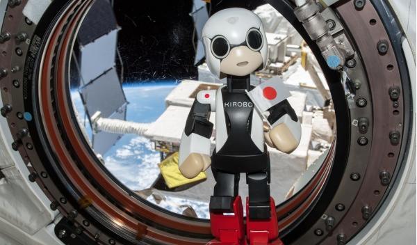 Kirobo ayuda a Toyota a hablar en el espacio