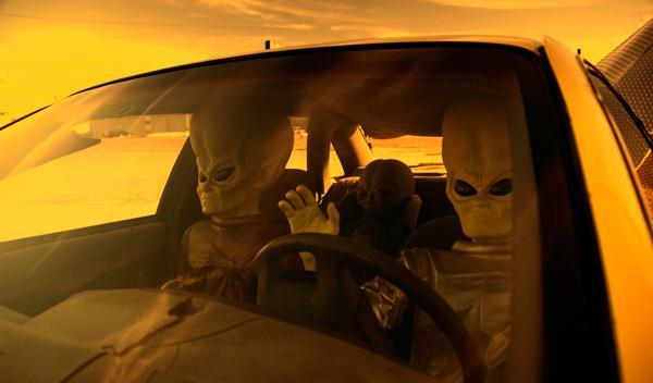 Un 'vehículo extraterrestre', a la venta en eBay