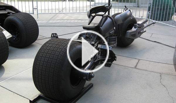 Una 'Batmoto' eléctrica con lanzallamas, a la venta en ebay