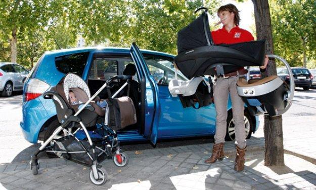 Estudio europeo de sistemas de rentención infantil