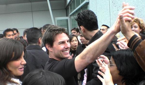 Tom Cruise como Carrol Shelby en la película 'Go Like Hell'