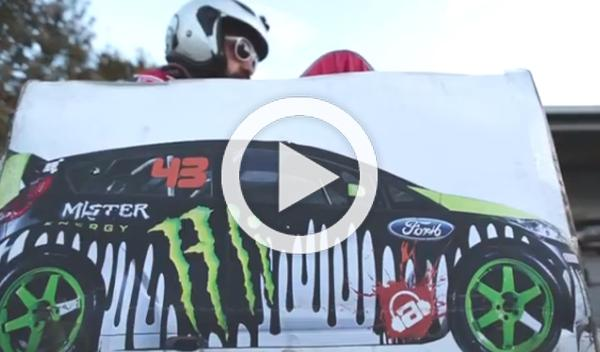 Ken Box Crazy Cart Gymkhana: divertido tributo a Ken Block