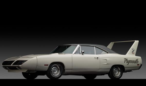 Este Plymouth Road Runner Superbird conserva todas las piezas originales