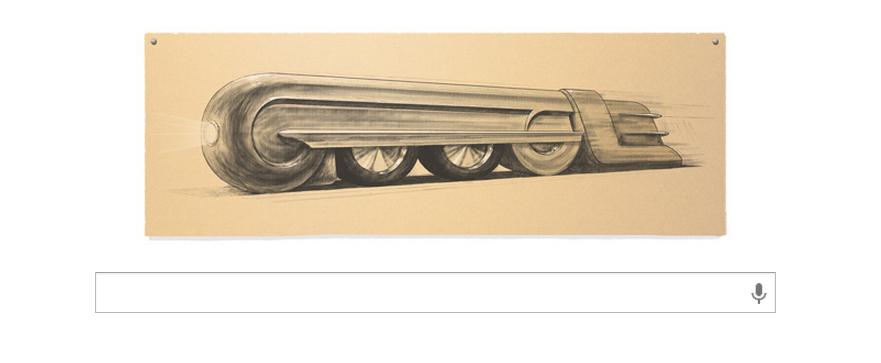 Raymond Loewy, en el 'doodle' de Google