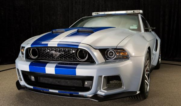 "El Mustang de ""Need for Speed"""