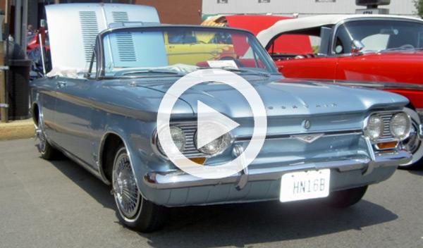 Un Chevrolet V8 Corvair sufre un accidente a 300 km/h