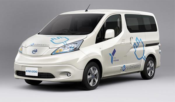 El Nissan e-NV200, a la venta en Japón en 2014