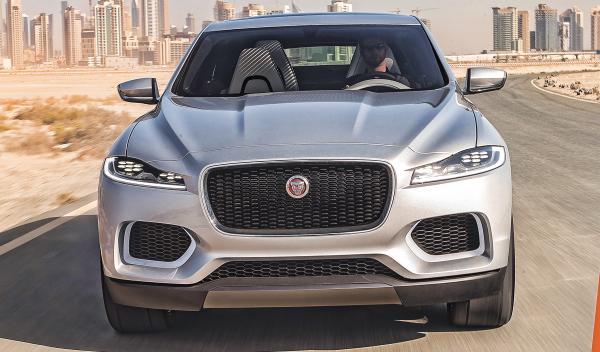El nuevo Jaguar C-X17