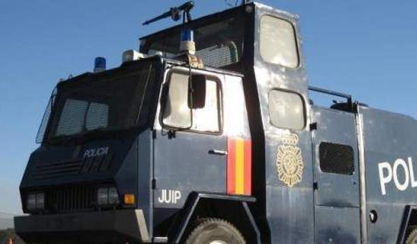 La Policía comprará un camión antidisturbios por 500.000 €