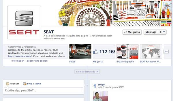 Las marcas de coches mejor posicionadas en Facebook