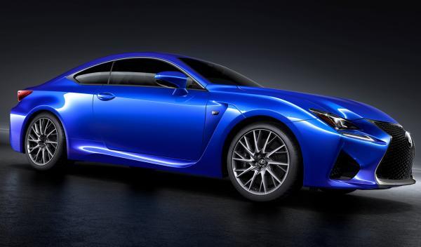 El Lexus RC F se presentará durante el Salón de Detroit 2014