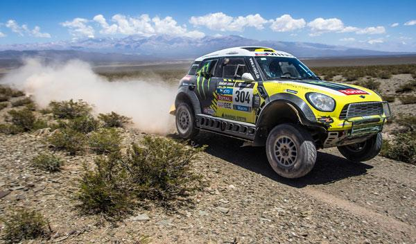 Rally Dakar 2014, etapa 5: Sainz, perdido, Roma nuevo líder