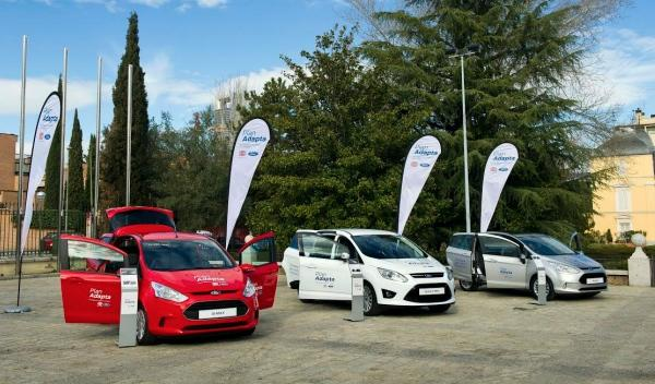 Plan Adapta: vehículos Ford adaptados para discapacitados