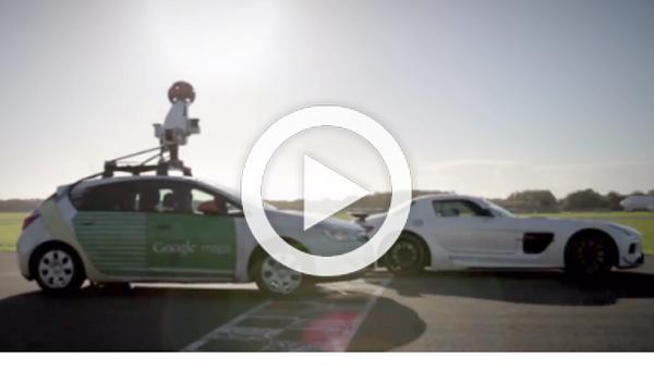 Stig ayuda a poner en Street View el circuito de Top Gear