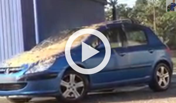 Vídeo: Rémi Gaillard se vuelve loco del todo en un lavadero