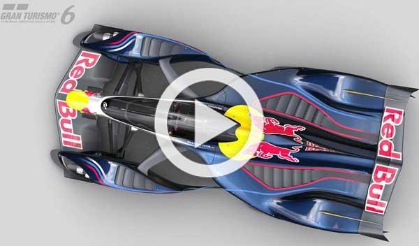 Red Bull X2014 Fan Car de Adrian Newey, en Gran Turismo 6