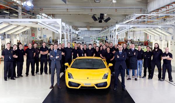 Lamborghini Gallardo: 10.000 unidades