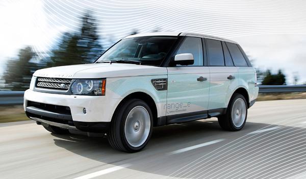 Fotos: Tracción 4x2 y tecnología híbrida para Land Rover