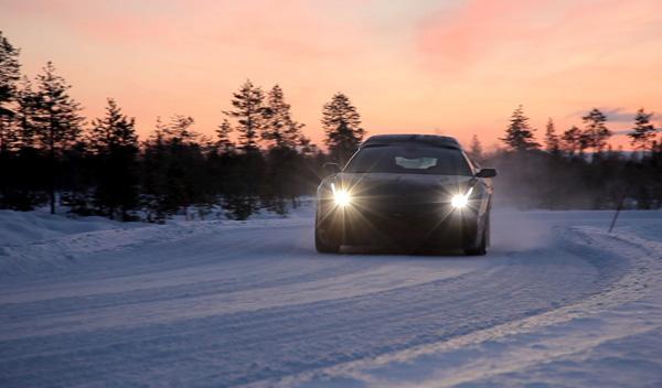 Ferrari FF nieve pruebas