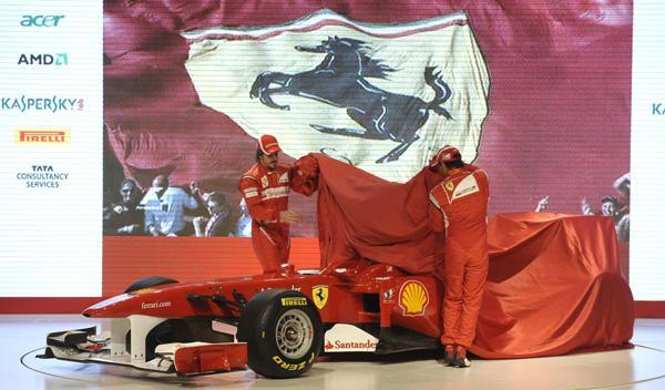 Ferrari F150 3/4 delantero