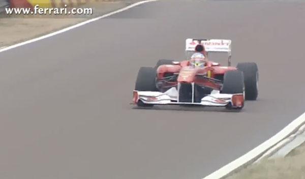 Fernando Alonso Ferrari F150 Fiorano