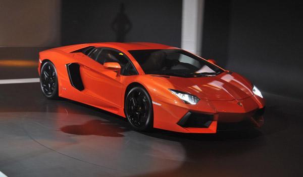 Lamborghini Aventador frontal