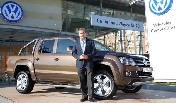 Carlos Sainz estrena su Volkswagen Amarok