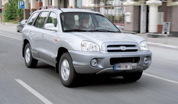 SUV hyundai Santa Fe todoterreno segunda mano