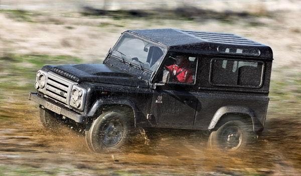 todoterreno land rover defender black edition