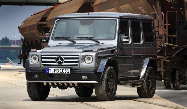 Mercedes Clase G BA3 Final Edition frontal
