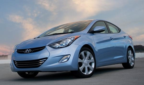 Hyundai Elantra frontal