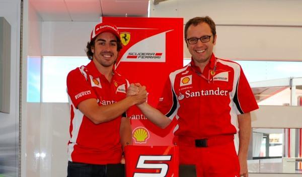 Fernando Alonso-Stefano Domenicali