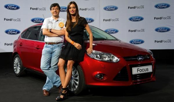 Ford y Sara Carbonero: ambos, muy futboleros