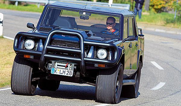Lamborghini Lambo LM 002 frontal
