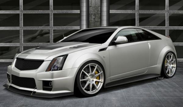 Hennessey le da 1.000 CV al Cadillac CTS-V Coupé